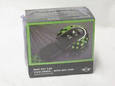 OEM Mini Cooper Vivid Green Key Fob Cap With NFC Chip 82292353327