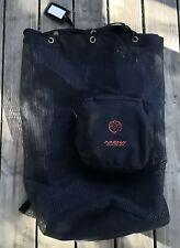 Akona Adventure Gear Black Mesh Backpack Scuba Diving Snorkeling Storage Bag