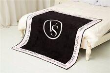 Victoria Secret Throw Blanket coral fleece