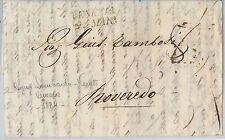 LOMBARDO VENETO  storia postale - PRECURSORI busta prefilatelica: VENEZIA 1834