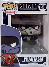 "PHANTASM Batman The Animated Series Pop Heroes 4"" Vinyl Figure #198 Funko 2017"
