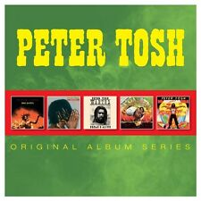 Peter Tosh ORIGINAL ALBUM SERIES Mama Africa MYSTIC MAN Bush Doctor NEW 5 CD