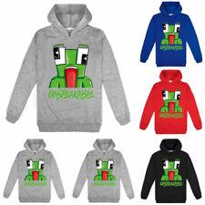 Children Cartoon Jacket Jumper UNSPEAKABLE Kids Boy Hoodies Sweatshirts Pullover