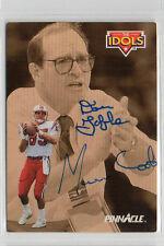 Dan Gable Marv Cook 1992 Pinnacle signed card University of Iowa Hawkeyes
