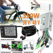 für Scooter E-Bike Motor Bürstenlos Controller 350W Steuergerät Mit LCD 36V/48V