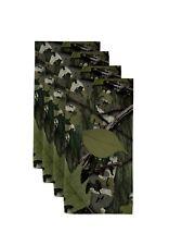 """Natural Camo Green 18"""" x 18"""" Napkins 1 Dozen"""