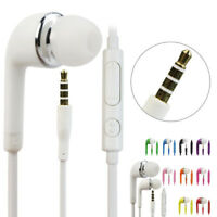 3.5mm Wired In-ear Stereo Earbud Headphone Earphone Headset With MIC For Android