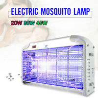 110V 20W 30W UV Lamp Electric Mosquito Flying Insect Bug Zapper Killer Pest Trap