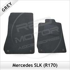 Mercedes SLK R170 1996-2004 a medida Alfombras coche Tapetes Gris