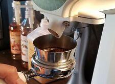 Mahlkonig Ek43 Grinder Custom Spout For Espresso Coffee Black Color