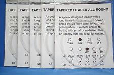 Vorfach Monofil 9ft 2,70 Meter 5er Pack Versand frei Tip 0,31mm Superdeal