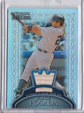 2005 Bowman Sterling Refractor Game Bat Jorge Posada 108/199