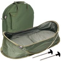 NGT Carp Cradle Pop Up Fishing Unhooking Mat with Carry Case and Pegs