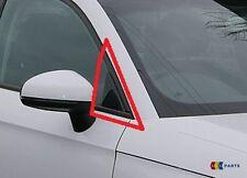 NUOVE Originali AUDI A1 12-14 Destro O/S sportello anteriore rifinitura ad angolo copertura Gloss Nero
