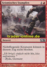 4x Seismisches Stampfen (Seismic Stomp) Magic 2014 M14 Magic