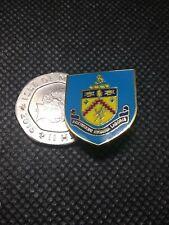 Burnley Fc new style pin badge