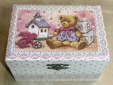 Vtg Music Box w Twirling Ballerina Looking in Mirror When Wish Upon A Star Works