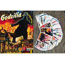 Playing Cards (Poker Deck 54 Cards) GODZILLA Vintage Movie Poster FlonzGift 001