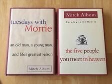 Tuesdays with Morrie & The Five People You Meet in Heaven - 2 HC by Mitch Albom