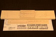 Slope Glider DIVINE WIND Laser Cut Short Kit & Plans 65 wing span