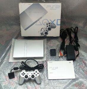 Playstation 2 ps2 silver pal region free