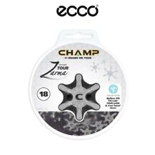 Ecco Champ Zarma Tour Golf Shoes Spikes 18 Pack Slim Lok RRP £19.95