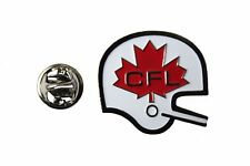 "CANADIAN FOOTBALL LEAGUE Old Logo Metal PIN BADGE ..SIZE : 1 1/8"" X 1"" Inch..New"