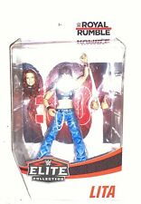 WWE Mattel Elite Royal Rumble Exclusive Lita Figure, Flashback
