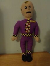 RARE VINTAGE PURPLE ACE 1992 CRASH TEST DUMMY PLUSH DOLL FIGURE SAFETY TOY