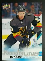 2019-20 Upper Deck Hockey Series 1 Oversized Young Guns Cody Glass Jumbo Rookie