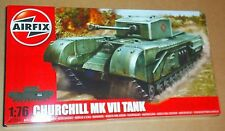 AIRFIX CHURCHILL MK VII TANK 1:76 SCALE BRITISH MAIN BATTLE WW2 MODEL KIT GUN