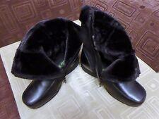 Women Fur Winter Boots - Size 9.5 Width - WW
