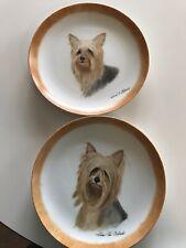 New listing Yorkie dog plates