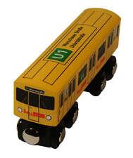 """Madera en miniatura en metro """"Berlin u1"""" para jugar de nuevo/en el embalaje original tren de madera madera de ferrocarriles"""