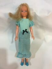 Vintage Mattel 1970s Barbie Skipper Doll With Outfit ~ Quick Curl