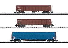 Minitrix 15869 N Wagen-set Gütertransport MHI Neu&ovp