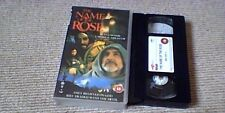 THE NAME OF THE ROSE 4FRONT UK PAL VHS VIDEO 1993 Sean Connery Christian Slater