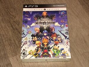 Kingdom Hearts HD II.5 Remix 2.5 Limited Edition PlayStation 3 PS3 New Sealed