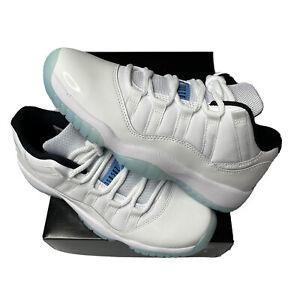 Nike Air Jordan 11 Low Retro LEGEND BLUE SIZE 6Y 528896-117 100% AUTHENTIC NEW