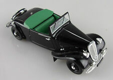 Universal Hobbies 1/43e: Citroën Traction 11CV cabriolet noir sans boite