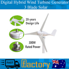 3 Blade Solar Controller Auto Rotate 300W Virtual Hybrid Wind Turbine Generator
