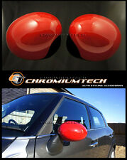 MINI Cooper/S/ONE R55 R56 R57 RED WING MIRROR Caps Cover for Manual Fold Mirror