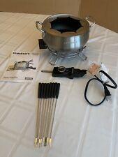 Cuisinart Electric Fondue Pot Model CFO-3SS New Out Of Box