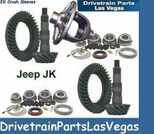 Premium Dana 30 + 44 Jeep JK Ring and Master Install Gear Set Package 4.56 Ratio