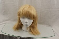 Asifen Medium Length Wig Mixed Real Human Hair with Synthetic Fiber  27/613 14M7