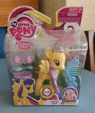 Sunny Rays My Little Pony G4 MLP FIM MIB MOC Yellow Pegasus Punch Dishes 2011