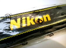 Nikon Black Yellow Digital Camera Shoulder AN-DC3  Neck Strap New Genuine OEM