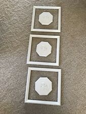 Vintage Mid Century/Hollywood Regency Door Embellishment Plastic Syroco Style