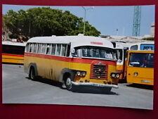 PHOTO  MALTA BUS DODGE BEBONO BLOT REG EBY 516