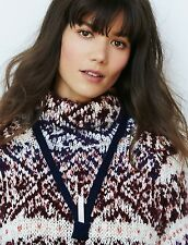 Free People Solar Crystal Necklace Navy Blue Retails $128.00